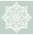 Orient ornamental round lace vector image
