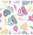 flower line art background vector image vector image