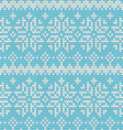 Beautiful seamless Norway pattern vector image