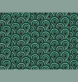 abstract seamless pattern with surreal forest vector image