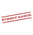 Street Dance Watermark Stamp vector image