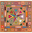 Colored background tile vector image