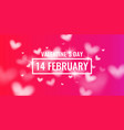 valentine day february 14 original and vector image