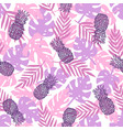 beautiful purple tropical background vector image