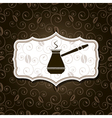 natural coffee background vector image