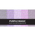 heart pattern set purple magic seamless vector image