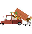 Moving vector image