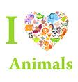 AnimalsLove vector image