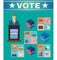 Election Debates Banner vector image