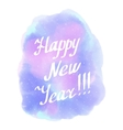 Happy New Year WinterAbstract background vector image