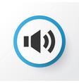 sound icon symbol premium quality isolated audio vector image