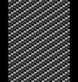 Black weave texture geometric seamless background vector image