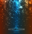 abstract light backround vector image vector image
