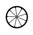 monochrome of citrus logo vector image