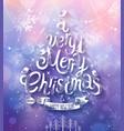 christmas purple bg vector image