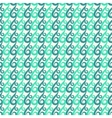 Blue and green swirls seamless pattern vector image