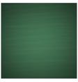 Blank green chalkboard background vector image