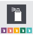 icon spray cans vector image