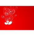Valentines Day bright background vector image