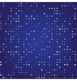 Abstract background with digital dots vector image