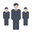Leader Business Concept vector image