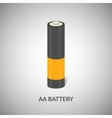 AA Battery icon Isolated cylinder AA vector image