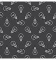 Bulbs seamless pattern vector image