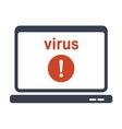 virus komp2 vector image vector image