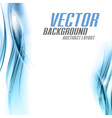 background blue sided vector image