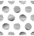 Seamless pattern of pencil strokes on white vector image