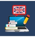 learn english online icon vector image