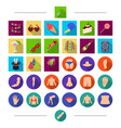 part holiday entertainment and other web icon in vector image