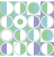 Seamless pattern of simple geometry Retro-style vector image