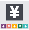 Icon Yen vector image vector image