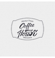 Coffee house - badge signboard can be used to vector image