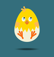 Easter Chicken Icon vector image