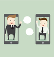 Business call vector image