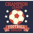 English football vector image