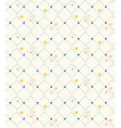 Geometric seamless vintage pattern background with vector image vector image