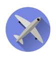 airplane symbol vector image
