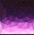 abstract colorful triangles background vector image