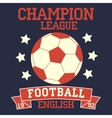 English football vector image