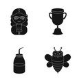 profession accessories equipment and other web vector image