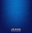 jeans material textured background  denim vector image