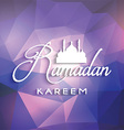ramadan background 1105 vector image