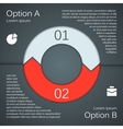 Modern template for your business project vector image