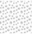 seamless pattern with pumpkin for halloween vector image vector image