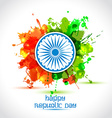 Happy Indian Republic Day celebration concept with vector image