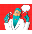 story of a dentist vector image vector image