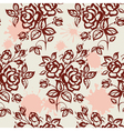 roses and blots vector image vector image